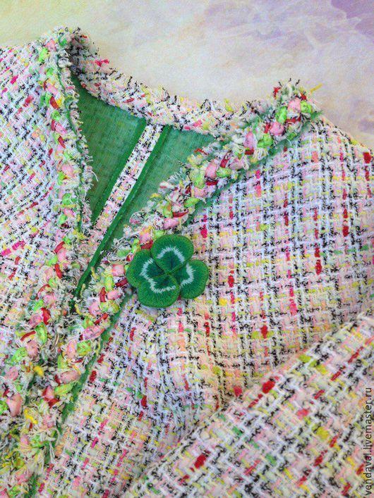 Пиджаки, жакеты ручной работы. Ярмарка Мастеров - ручная работа. Купить Жакет в стиле Шанель. Handmade. Комбинированный, твидовый жакет