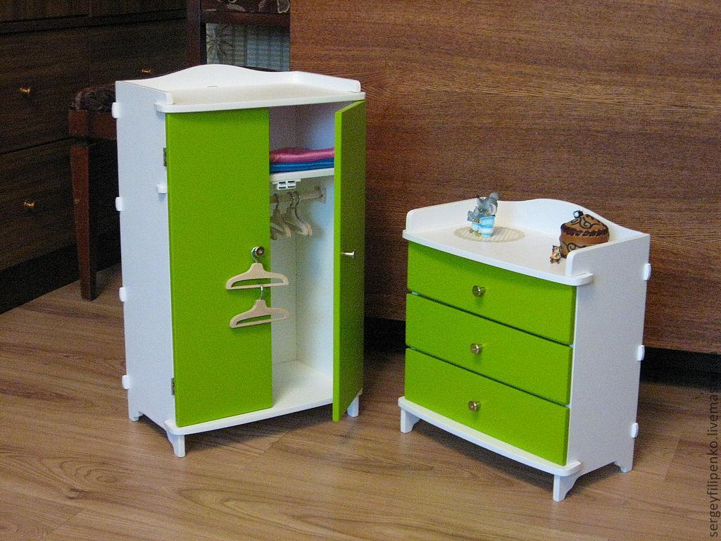 Сделать мебель для кукольного домика своими руками 73