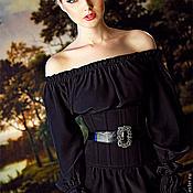 """Одежда ручной работы. Ярмарка Мастеров - ручная работа Корсет """"Аристократка 2"""" черный. Handmade."""