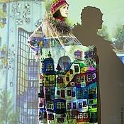 """Одежда ручной работы. Ярмарка Мастеров - ручная работа Пальто """"Хундертвассер forever!!!!!"""". Handmade."""