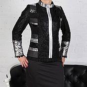 """Одежда ручной работы. Ярмарка Мастеров - ручная работа Авторская Куртка в стиле """"Пэчворк"""". Handmade."""