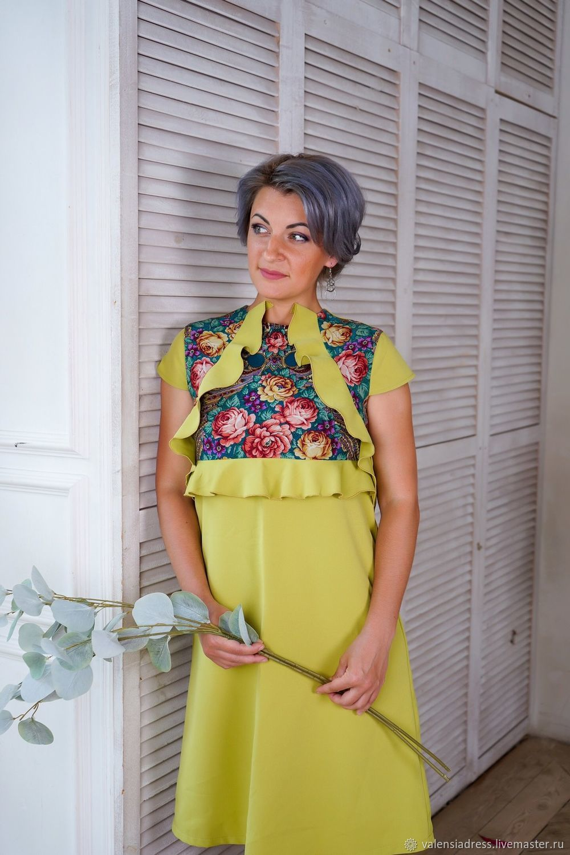 dresses: Green bell dress A La Russe, Dresses, St. Petersburg,  Фото №1