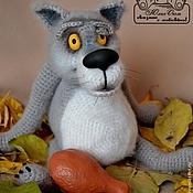 Куклы и игрушки ручной работы. Ярмарка Мастеров - ручная работа Жил -был ВОЛК.... Handmade.