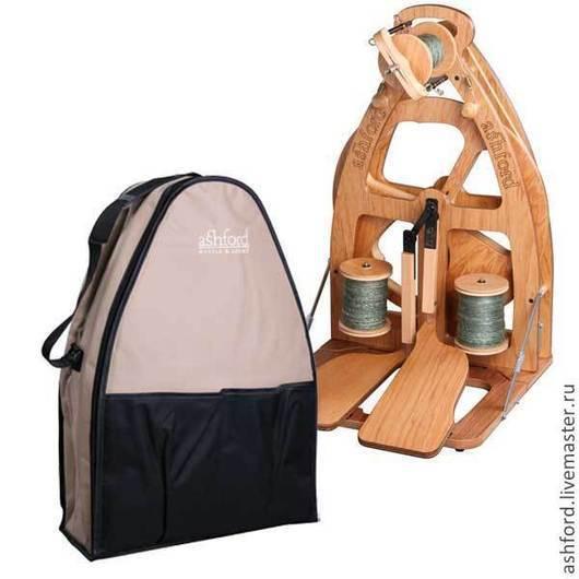Другие виды рукоделия ручной работы. Ярмарка Мастеров - ручная работа. Купить Прялка Joy, с двумя педалями + сумка!. Handmade.