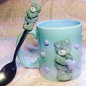 """Посуда ручной работы. Ярмарка Мастеров - ручная работа """"Тедди Love"""". Handmade."""