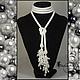 Lariat Pearls. Lariats. Lariaty and necklace. My Livemaster. Фото №5