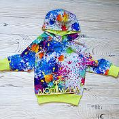 Одежда handmade. Livemaster - original item Sweatshirt Paint. Handmade.
