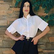 """Одежда handmade. Livemaster - original item Нарядный вышитый костюм """"Белый пион"""" костюм с вышивкой. Handmade."""