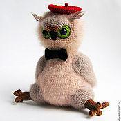 """Куклы и игрушки ручной работы. Ярмарка Мастеров - ручная работа Игрушка """"Совенок"""". Handmade."""