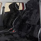 Сувениры и подарки handmade. Livemaster - original item Cushion car seats sheepskin, lump fur (Mouton). Handmade.