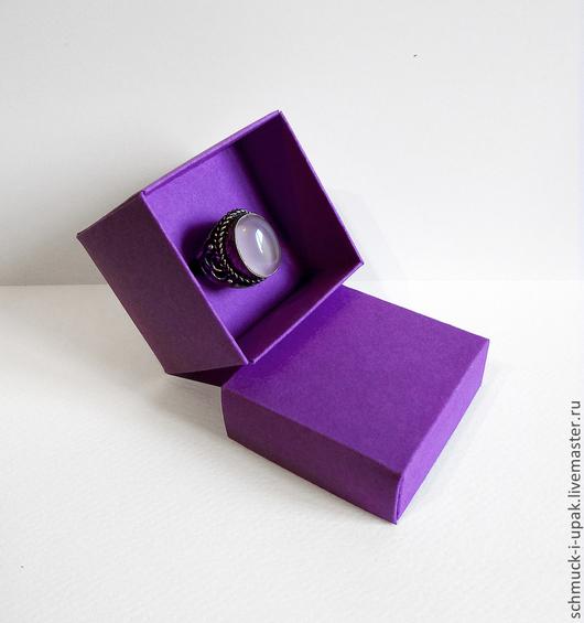 Упаковка ручной работы. Ярмарка Мастеров - ручная работа. Купить Самосборная коробка 5х5х5. Handmade. Фиолетовый, заготовки, заказ коробок