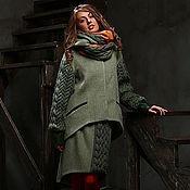 Одежда ручной работы. Ярмарка Мастеров - ручная работа Дизайнерское пальто. Handmade.