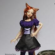 handmade. Livemaster - original item foxy Lila (12.5 cm). Handmade.