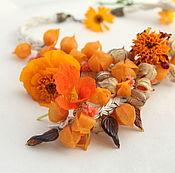 Украшения handmade. Livemaster - original item Necklace autumn