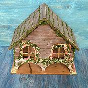 Для дома и интерьера ручной работы. Ярмарка Мастеров - ручная работа Чайный домик в русском стиле. Handmade.