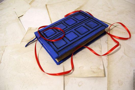Блокноты ручной работы. Ярмарка Мастеров - ручная работа. Купить Дневник Ривер Сонг (блокнот). Handmade. Тёмно-синий