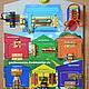 """Развивающие игрушки ручной работы. Ярмарка Мастеров - ручная работа. Купить Развивающая Доска Модуль Бизиборд """"Гаражный Комплекс"""" Монтессори. Handmade."""