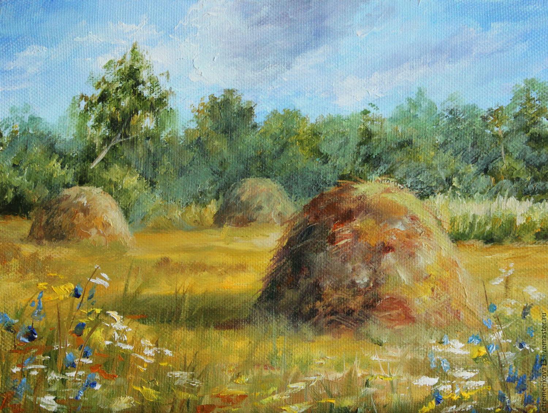 "Картина ""Стога"", Картины, Ярославль,  Фото №1"