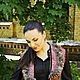 """Жилеты ручной работы. Жилет """" Вишневый джем"""". Наталья Леонович  AlitaFelt. Интернет-магазин Ярмарка Мастеров. Жилет женский"""