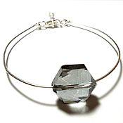 Украшения ручной работы. Ярмарка Мастеров - ручная работа Лаконичный браслет из серебра и кристалического кварца. Handmade.