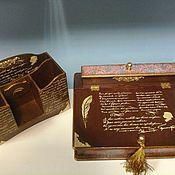 Канцелярские товары handmade. Livemaster - original item Set Desk pencil holders