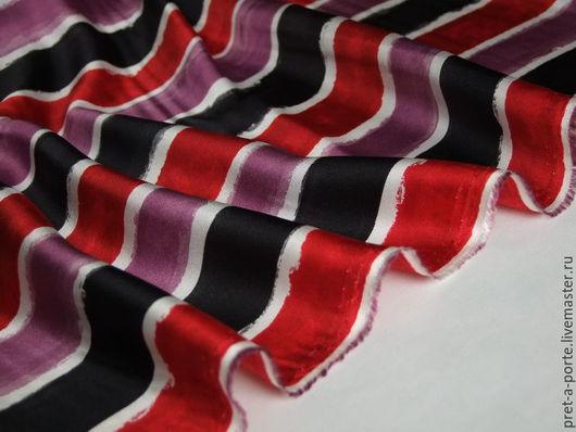 Шитье ручной работы. Ярмарка Мастеров - ручная работа. Купить D&G шелковый твилл , Италия. Handmade. Итальянские ткани