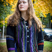 """Одежда ручной работы. Ярмарка Мастеров - ручная работа Жакет """"Две радуги"""". Handmade."""