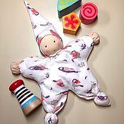 Вальдорфские куклы и звери ручной работы. Ярмарка Мастеров - ручная работа Вальдорфская кукла-бабочка «Розочка». Handmade.