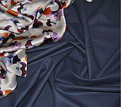 Ткани ручной работы. Ярмарка Мастеров - ручная работа Костюмная шерсть с эластаном Cerruti. Handmade.