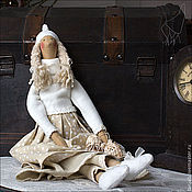 Куклы и игрушки ручной работы. Ярмарка Мастеров - ручная работа Фрея  - кукла в бохо стиле. Handmade.