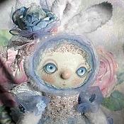 Куклы и игрушки ручной работы. Ярмарка Мастеров - ручная работа Зайка Белогурочка.. Handmade.