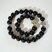 Фен-шуй и эзотерика handmade. Livemaster - original item A set of rosary of the black jade