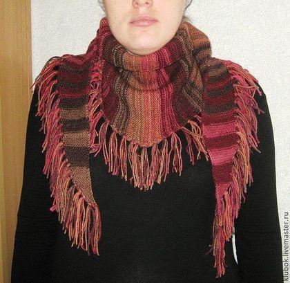 """Шарфы и шарфики ручной работы. Ярмарка Мастеров - ручная работа шарф """"Уютный"""". Handmade."""