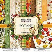 Бумага Ботаника от Фабрики Декору для скрапбукинга