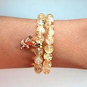 Украшения handmade. Livemaster - original item Bracelets citrine. Handmade.