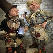 """Куклы и игрушки ручной работы. Ярмарка Мастеров - ручная работа """"Пивные традиции Троллей"""". Handmade."""