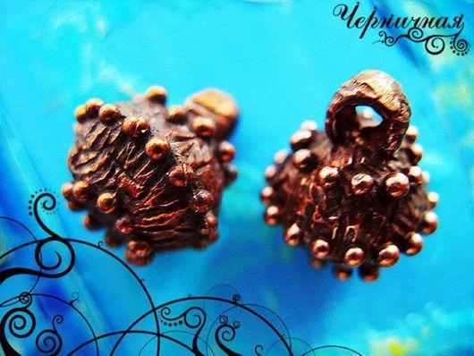 Для украшений ручной работы. Ярмарка Мастеров - ручная работа. Купить Вальс цветов 0822-350 (6). Handmade. Коричневый
