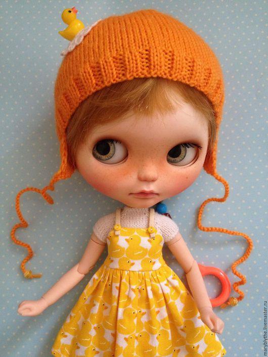Одежда для кукол ручной работы. Ярмарка Мастеров - ручная работа. Купить Комплект для куклы Blythe. Handmade. Комбинированный, blythe