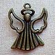Для украшений ручной работы. Ярмарка Мастеров - ручная работа. Купить Подвеска для кулона ангел 3D. Handmade. Ангел, ангелы