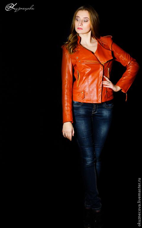 эксклюзивная куртка, кожа, натуральная кожа, Итальянская кожа, авторская работа, дизайнерский наряд, эксклюзивная работа.