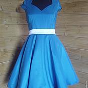 Одежда ручной работы. Ярмарка Мастеров - ручная работа платье в стиле 50-х. Handmade.