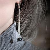 Украшения handmade. Livemaster - original item Earrings classic: