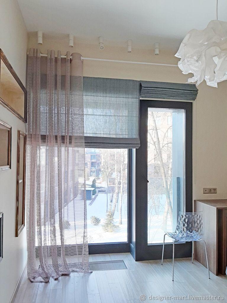 она фото французских окон с гардинами на кухне территории удачно расположились