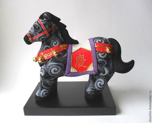 коллекционные японские куклы купить коллекционные куклы магазин коллекционные куклы ручной работы в москве лошадь лошадка символ года восточный гороскоп кимэкоми кимекоми chochin Мария Ильницкая