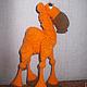 """Обучающие материалы ручной работы. Мастер-класс """"Оранжевый вербюлюд"""". Iriss. Вязаные фантазии. Ярмарка Мастеров. Авторская игрушка"""