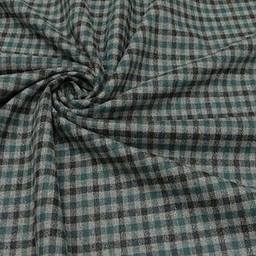 Материалы для творчества ручной работы. Ярмарка Мастеров - ручная работа ткань костюмная шерсть  стрейч Германия 02. Handmade.