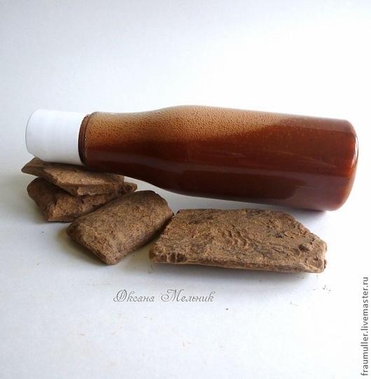 """Шампунь ручной работы. Ярмарка Мастеров - ручная работа. Купить Шампунь """"Шоколадный шейк"""". Handmade. Коричневый, натуральная косметика"""