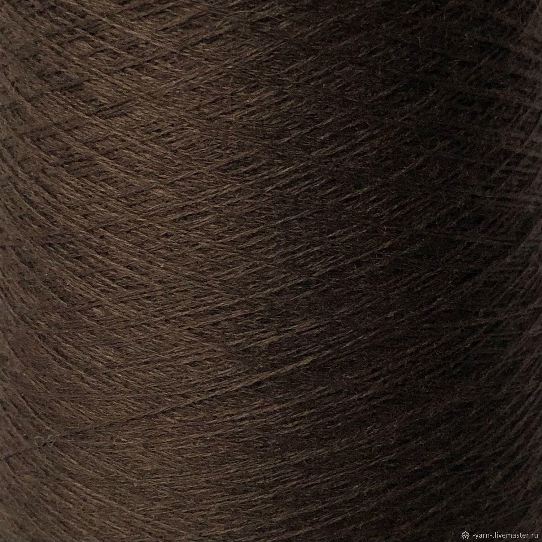Пряжа Кашемир 2/28 коричневый – купить на Ярмарке Мастеров – N84SSRU | Пряжа, Санкт-Петербург