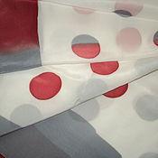 """Аксессуары handmade. Livemaster - original item Шелковый платок """"Ретро"""". Handmade."""