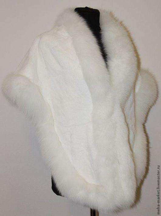 Верхняя одежда ручной работы. Ярмарка Мастеров - ручная работа. Купить Накидка из стриженого бобра. Handmade. Натуральный мех, пончо
